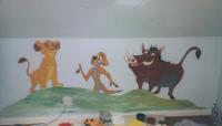 Characters from The Lion King
